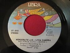 RARE LATIN FUNK SOUL 45 - MONSERATE LYDA ZAMORA - MOLIENDO CAFE - LIBRA 1810 VG+