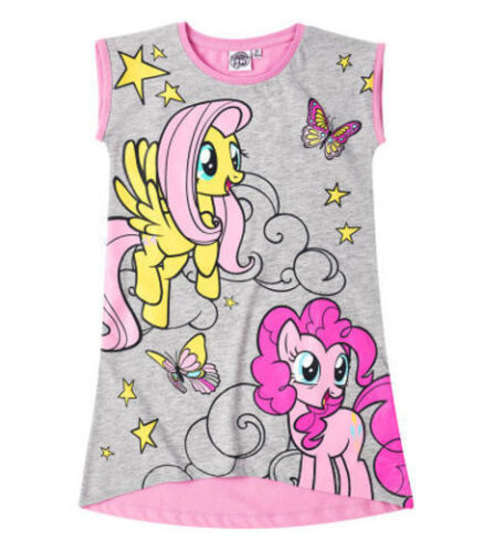 NUOVO Ragazze Con Licenza Disney Troll Lungo Camicia da notte nightwear pigiama corto nuovo con etichetta