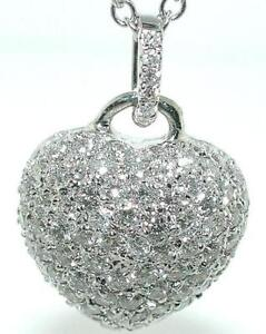 1-CT-VALENTINE-HEART-Diamond-Pendant-14KW-Rounds