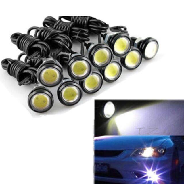 White 12V 10W Eagle Eye LED Daytime Running DRL Backup Light Car Auto Lamp
