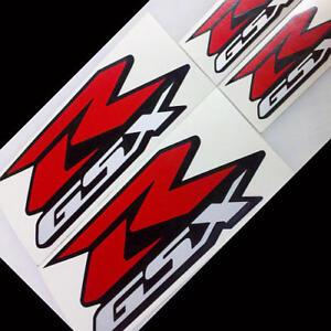 Suzuki GSX-R REFLECTIVE custom motorcycle decals sticker 150 250 600 750 1000 r
