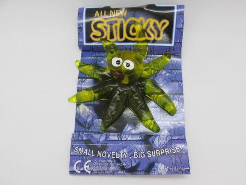 48x Sticky XXL Schleim Glibber Figuren Slime Fensterkletterer Spielzeug Wand Toy