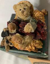 Boyds Bearstone Collection Momma Luvsalot with Hannah /& Sam #4015165 NIB
