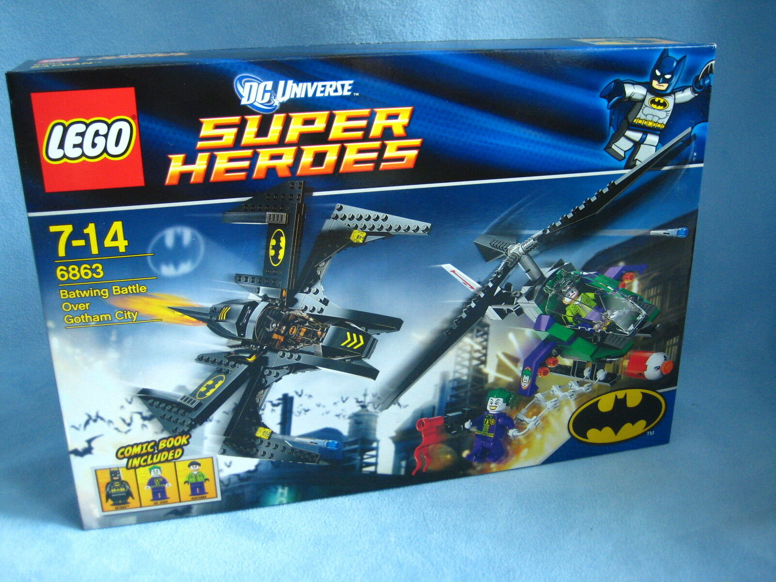 Lego DC Super Heroes Batman 6863  Batwing Battle over Gotham City  Neu + Ovp