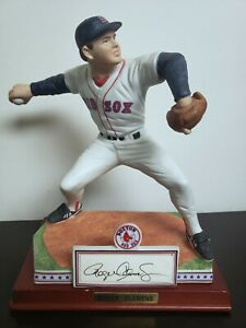 Roger-Clemens-Sports-Impressions-Figurine-Hand-Signed-Red-Sox-Rare-975-Auto