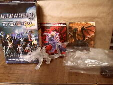 Final Fantasy Creatures Clear Mini Figure Lot Fafnir & Behemoth Anime Square