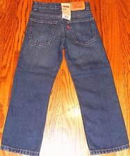 LEVIS ORIGINAL TODDLERS/KIDS BOYS BRAND NEW DENIM JEANS PANTS Size 6T, NWT