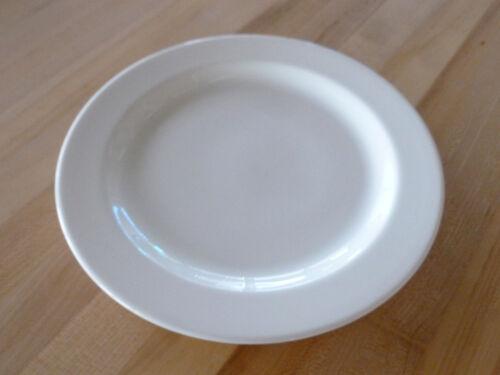 """Syracuse China Chateau 10-5//8/"""" Plate White Undec 950002569 Dozen"""