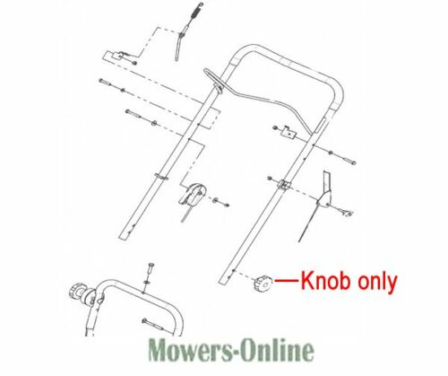 DR Replacement Knob 143661 Wheeled Trimmer Field /& Brush Mower Sprint Scout