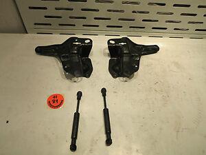 Smart-Cabrio-amp-Passion-CDI-Verdeckhalter-inkl-Stossdaempfer-SET-LI-RE-gebrauc