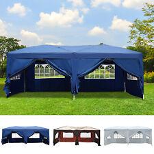 Outsunny  Tonnelle de Jardin Tente de Réception Pliable Pavillon Barnum 3x6m Sac