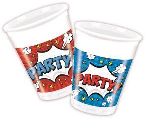 Party Teller Geburtstag Feste Einweggeschirr Pappteller Deko Boom Party ..