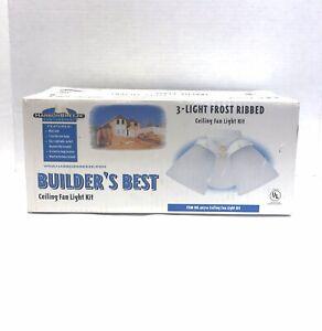 Ceiling Fan Light Kit By Builder S Best New In Box No 96710 Ebay