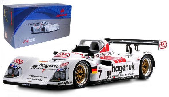 Spark 18lm97 Joest Twr Porsche Le Mans Winner 1997-Escala 1 18