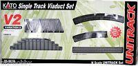 N Scale Unitrack V2 Single Track Viaduct Set - Kato 20-861-1
