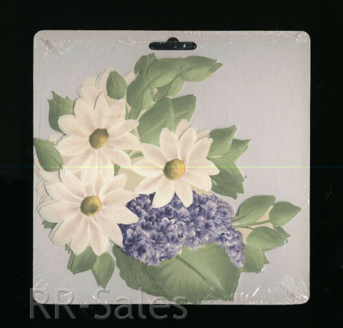 Lilac White Daisy Bouquet 10 Decal Stickers Donnas Wallpaper Cutouts Wall Border