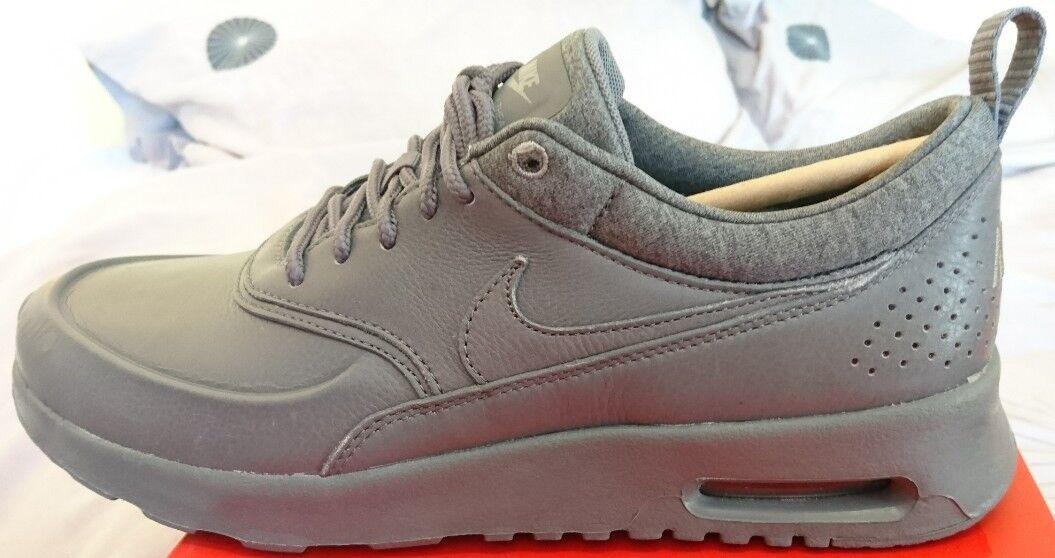 Nike Air Max Thea Pinnacle Cool Grigio Donna Con Pelle Nuovo Con Donna Scatola Donna EUR 38.5 1181de