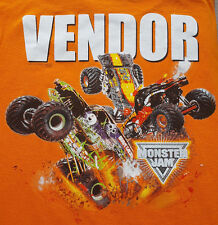 NEW Monster Jam 2015 Vendor Large T Shirt Grave Digger El Toro Loco Max Truck