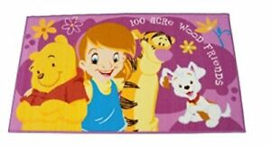Details About Tappeto Disney Action Line Winnie The Pooh And Friends Misura 80x140cm