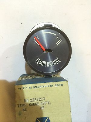 NOS MOPAR 1787076-58-60 Dodge Truck Temperature Gauge Assembly