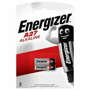 Pile A27 Energizer MN27 V27A 8LR732 alcaline 12V lot de 2 piles