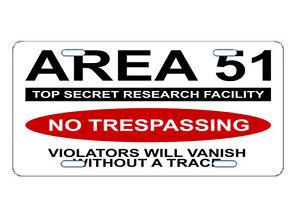 Area-51-License-Plate-Custom-Car-Tag-Aliens-UFO