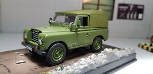 OXFORD DIECAST CARARAMA CRLAND3MIL 1:43 O Scale Military Land Rover Series III