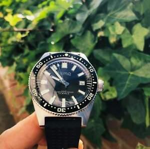 Alerte Sharkey 62mas Diver Automatique Montre-bracelet Homme Boîte Sla017 Type Saphir Neuf V2-afficher Le Titre D'origine