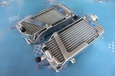 capless side aluminum radiator compatible with KTM 125//150//200//250//300 SX//XC//XC-W 2013 2014 13 14