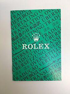 Genuine-Rolex-Translation-Traduzione-Rolex-OPUSCOLO-libretto-565-00-300-11-86