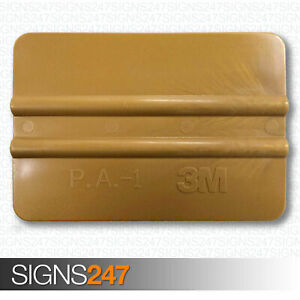 3M-GOLD-SQUEEGEE-Vinyl-Fitting-Applicator-Vehicle-Warp-Tool-71602-PA1-G