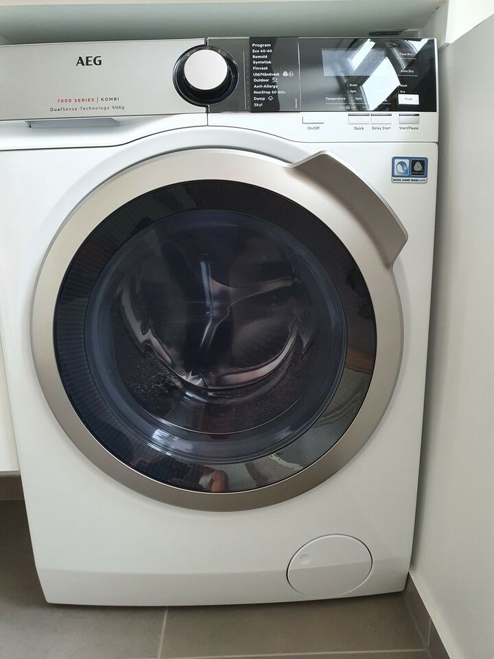 AEG vaskemaskine, L7WSP964E, vaske/tørremaskine