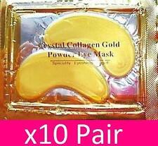10x COPPIE GOLD COLLAGENE occhi maschere patch LIFT ANTI umidità l'inserimento faccia Bordo a incastro