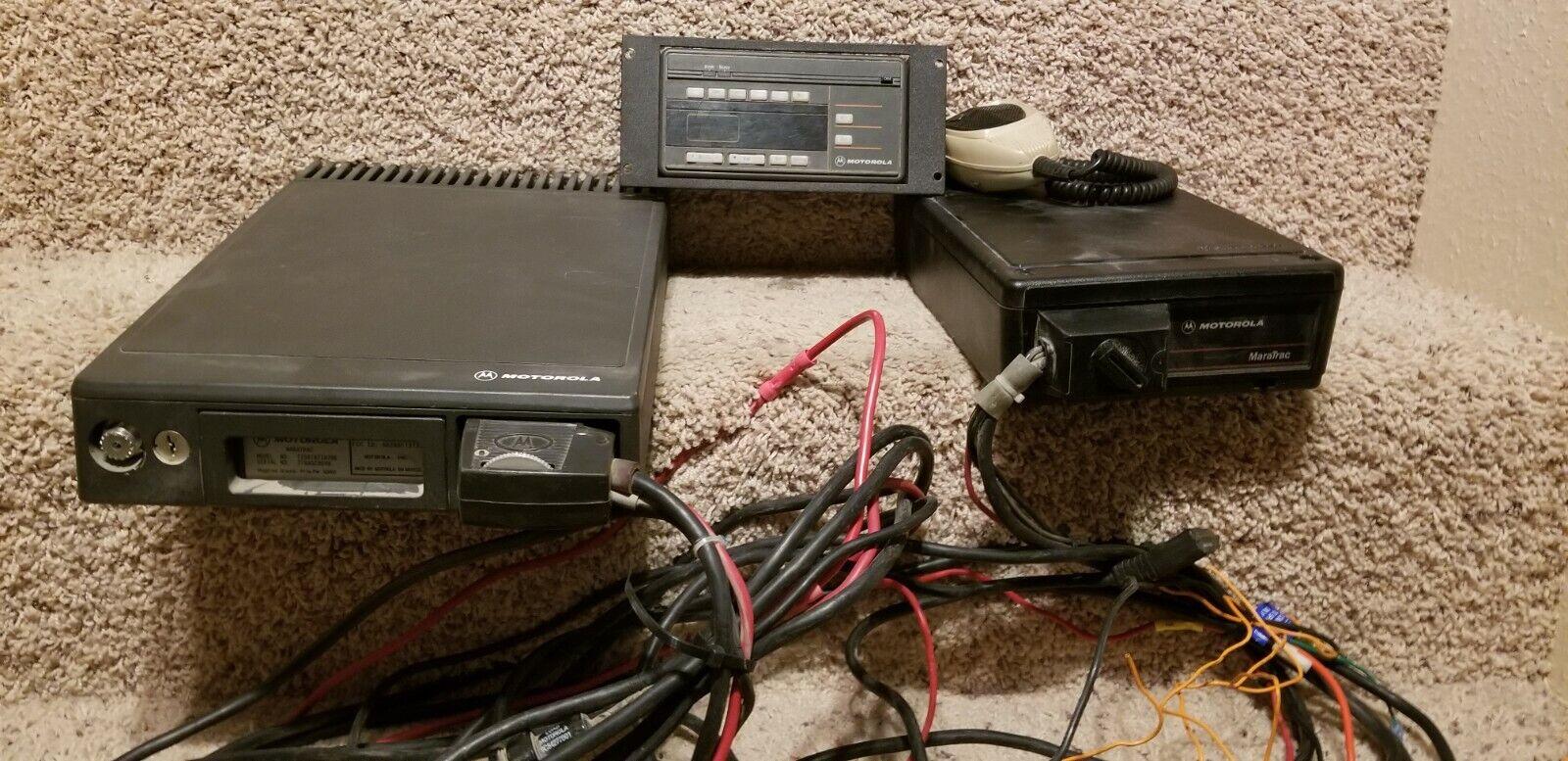 Motorola T73XTA7TA7BK Maratrac 100 Watt VHF High Band Radio. Available Now for 99.94