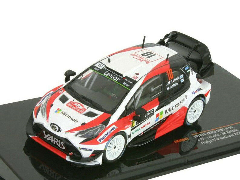 Ixo Models 1 43 RAM 647 Toyota Yaris WRC WRC WRC  10 Rally Montecarlo 2017 Latvala NEW be17ae