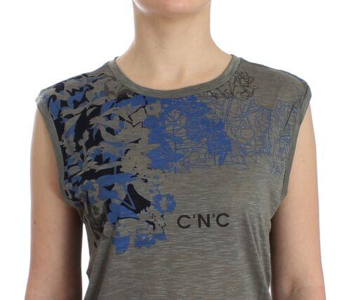 National Grigio Con C E Etichetta Nuova Stampa Costume xHgvCxqz