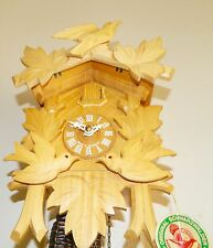 ***BEAUTIFUL NATURAL COLOR  GERMANY BLACK FOREST CUCKOO CLOCK***