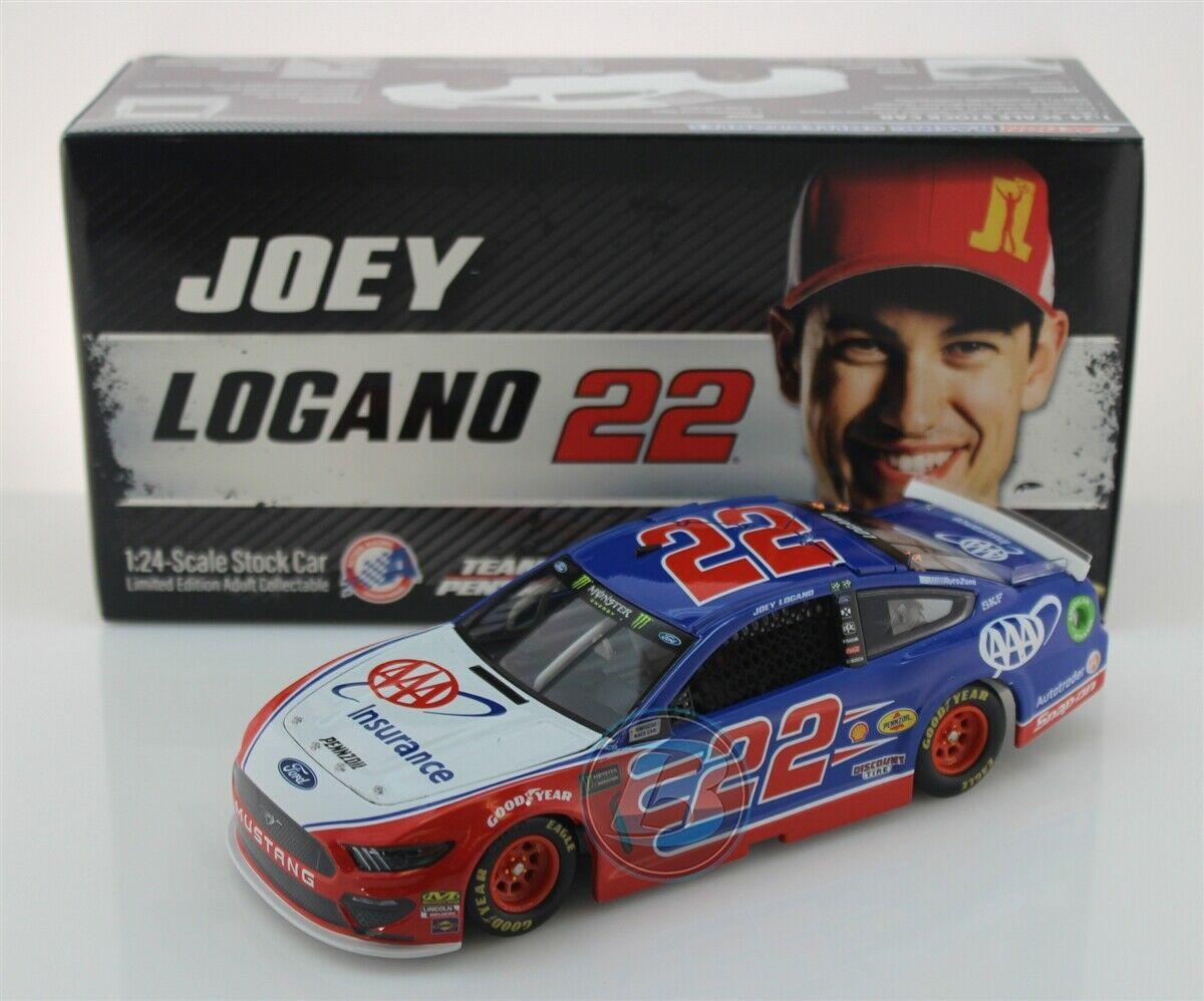 NASCAR 2019 JOEY LOGANO  22 AAA INSURANCE 1 24 CAR
