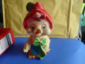 uralte-Rolf-Kauka-Figur-Daggi-21-cm-gross-selten-schoen