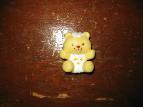 Vintage Strawberry Shortcake Yellow Bear cookie butter Pet Teddy toy friends