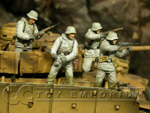 "Dragon 1:35 /""Tiger Aces/"" German Soldier Set 4 JUST IN"