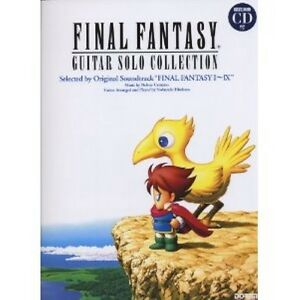 Final Fantasy Guitar Solo Collection Book