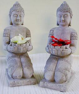 CBG-schwerer-Buddha-mit-Schale-aus-Sandstein-FengShui-Bonsai-32cm
