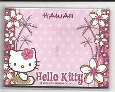 Sanrio Hello Kitty Sticky Notes Hawaii 30 Sheets Hula Palms Pink