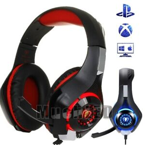 Pro-Gaming-Headset-With-Mic-XBOX-One-Wired-PS4-Headphones-3D-Microphone-Beats