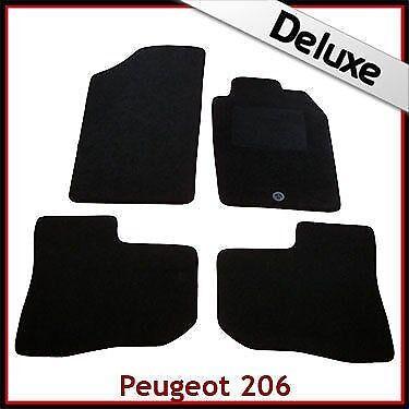 Peugeot 206 cc 1998-2007 2008 2009 2010 1-CLIP SUR MESURE de luxe 1300 G Tapis voiture