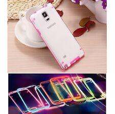 % FLASH CASE Hülle Light Handy Rahmen Schutzhülle Case Cover Apple iPhone 5 PINK