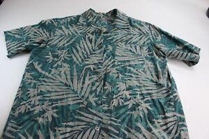 Talbots-Floral-Hawaiian-Camp-Shirt-XL-Extra-Large
