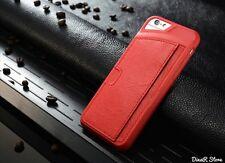 GUSCIO per cellulare custodia per Apple iPhone 6 Custodia Guscio Astuccio Cover-rosso (56ro)