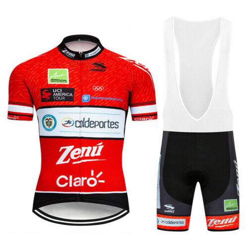 Mens Cycling Jersey /& Bib Short Set Cycling Jersey Short Sleeve Cycling Shorts